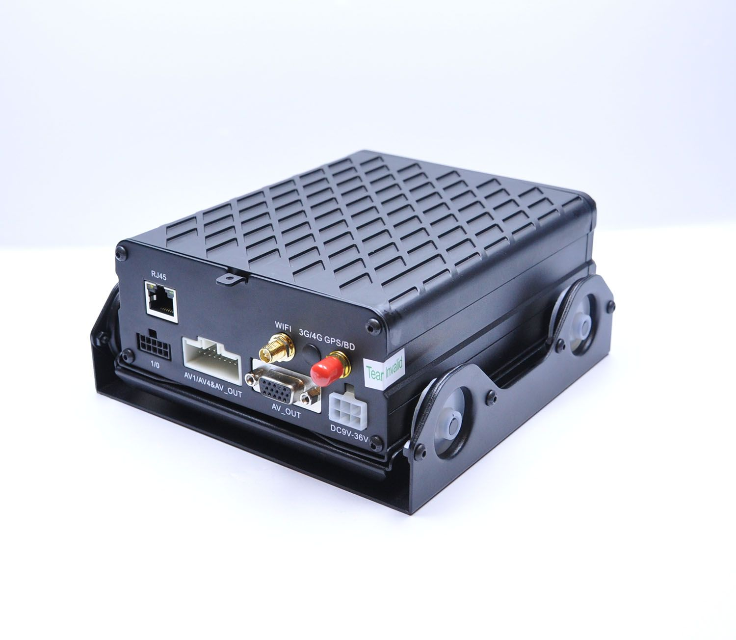 4 Channel GPS WiFi 4G Video Recording 1080p AHD Mobile DVR