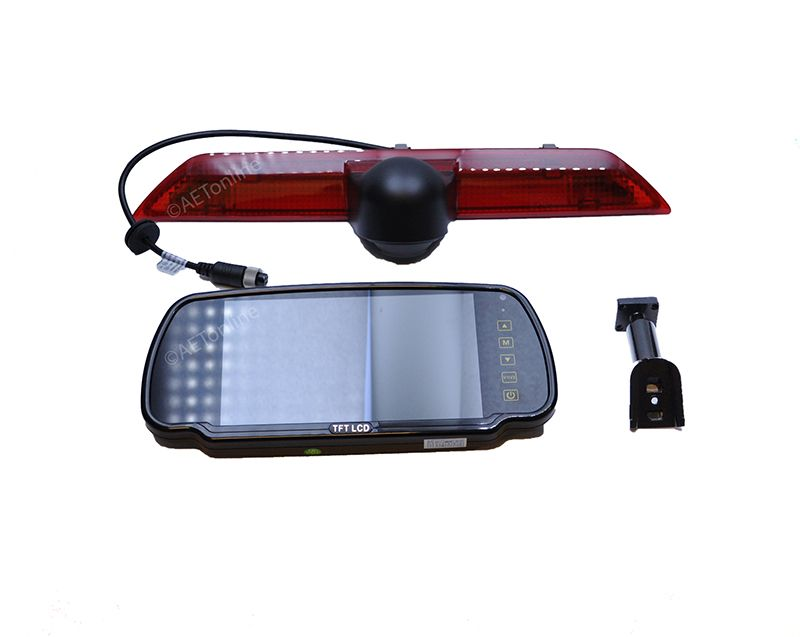 "Ford Transit Infrared LED Brake Light RearView Reverse Camera 4.3/"" LCD Monitor"