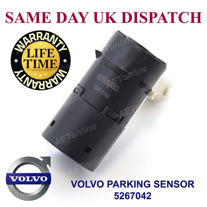 Volvo Pdc 3 Pin Parking Sensor Front Rear S60 S80 V70 Xc70